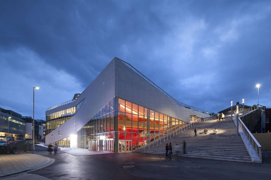 Cultural Center Plassen Norway 3XN architects