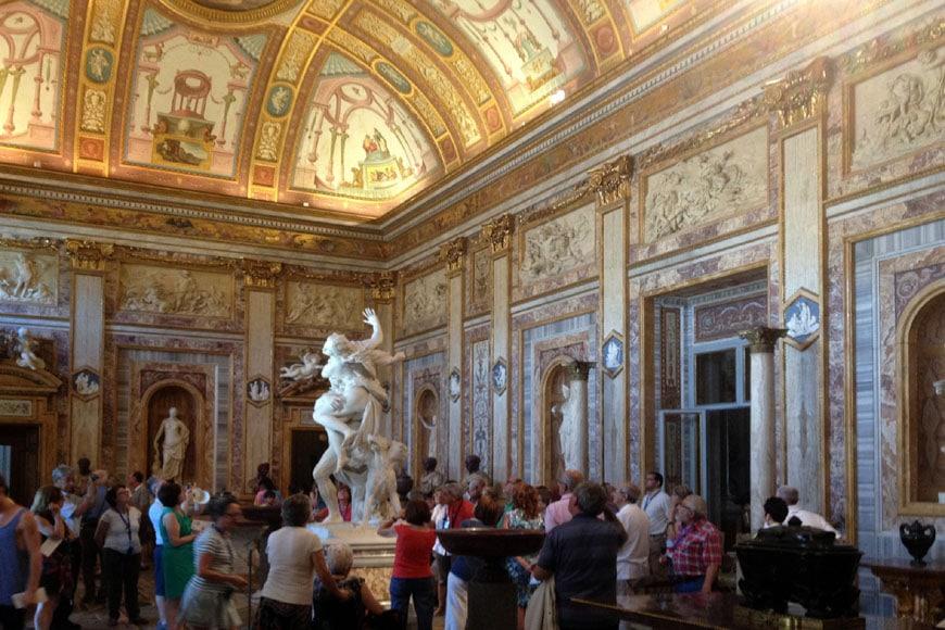 Galleria Borghese Rome interior 02