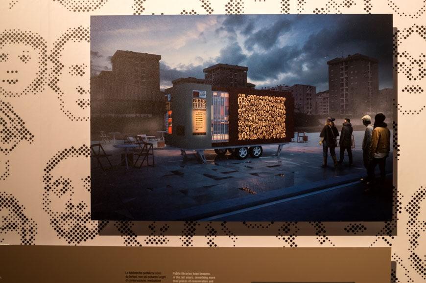 Italy exhibition Padiglione Italia Venice Architecture Biennale 2016 Inexhibit 09