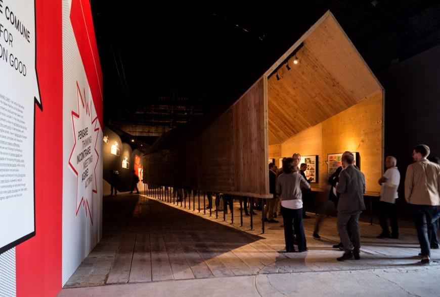 Italy exhibition Padiglione Italia Venice Architecture Biennale 2016 Inexhibit 11