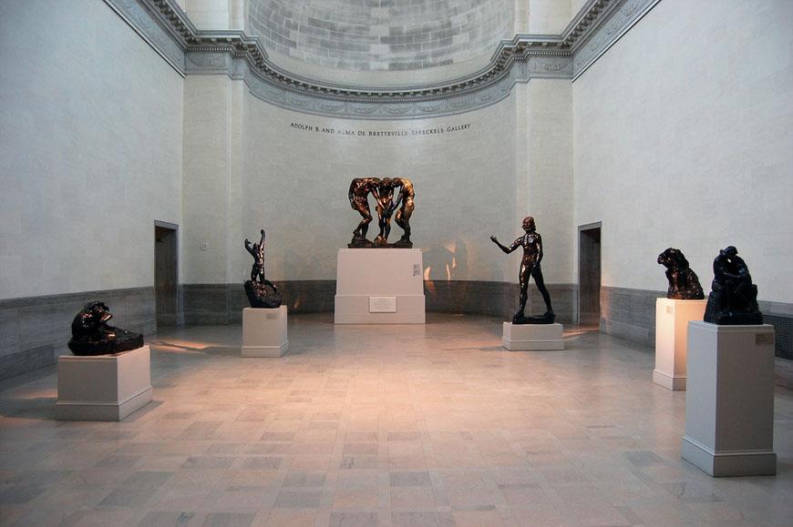 Legion of Honor San Francisco sculpture gallery 01