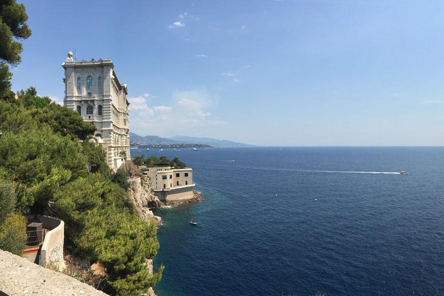 Oceanographic Museum & aquarium Monaco
