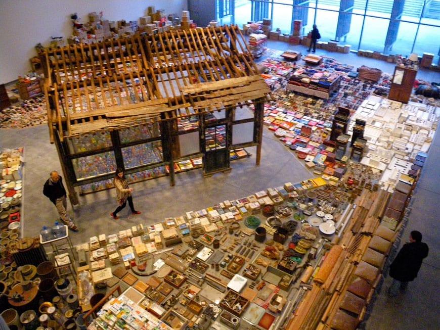 YBCA San Francisco Song Dong exhibition 2011