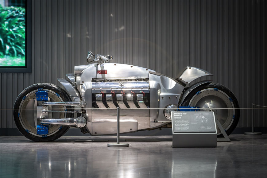 Dodge Tomahawk Petersen Automotive Museum Los Angeles