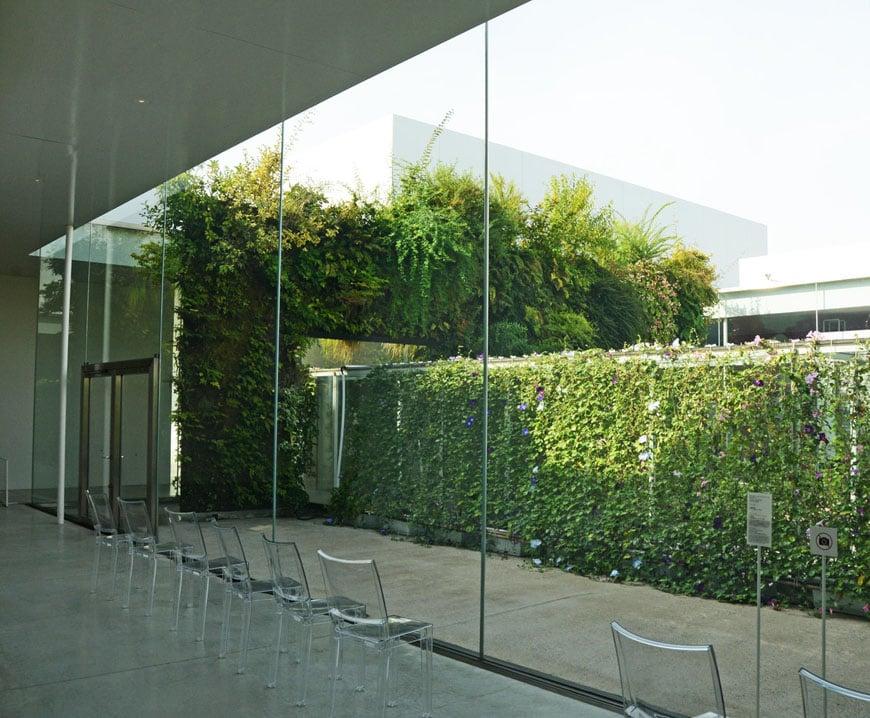 Patrick Blanc Green Bridge installation Kanazawa museum 05