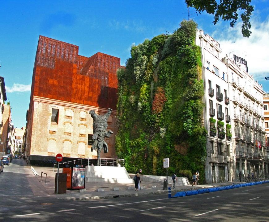 Patrick Blanc vertical garden Caixaforum Madrid 01