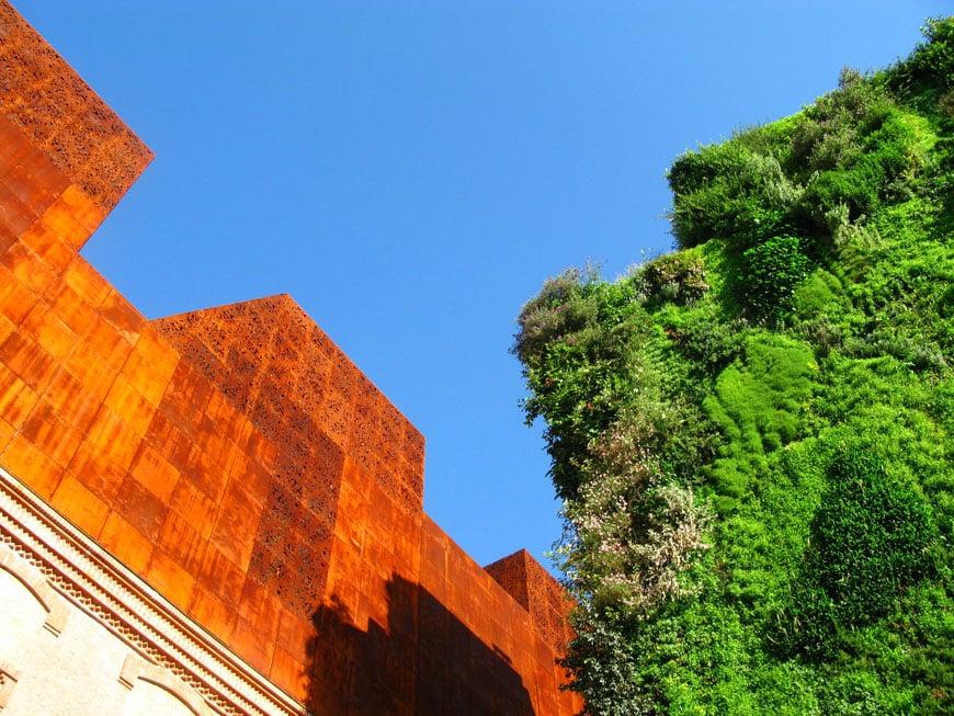 Patrick Blanc vertical garden Caixaforum Madrid 02