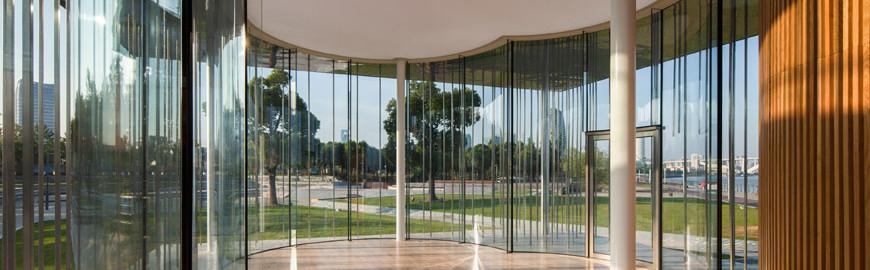 """The new """"Cloud Pavilion"""" by Schmidt Hammer Lassen Architects"""