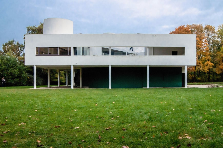 Photo De Villa Moderne Le Corbusier