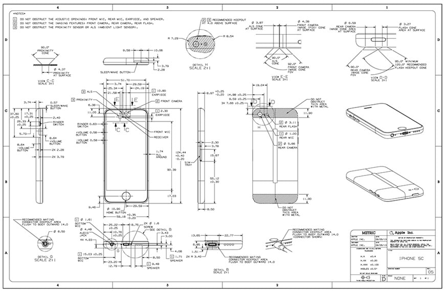 apple-iphone-5-technical-drawings