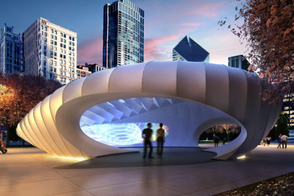 Chicago – The Burnham Pavilion by Zaha Hadid