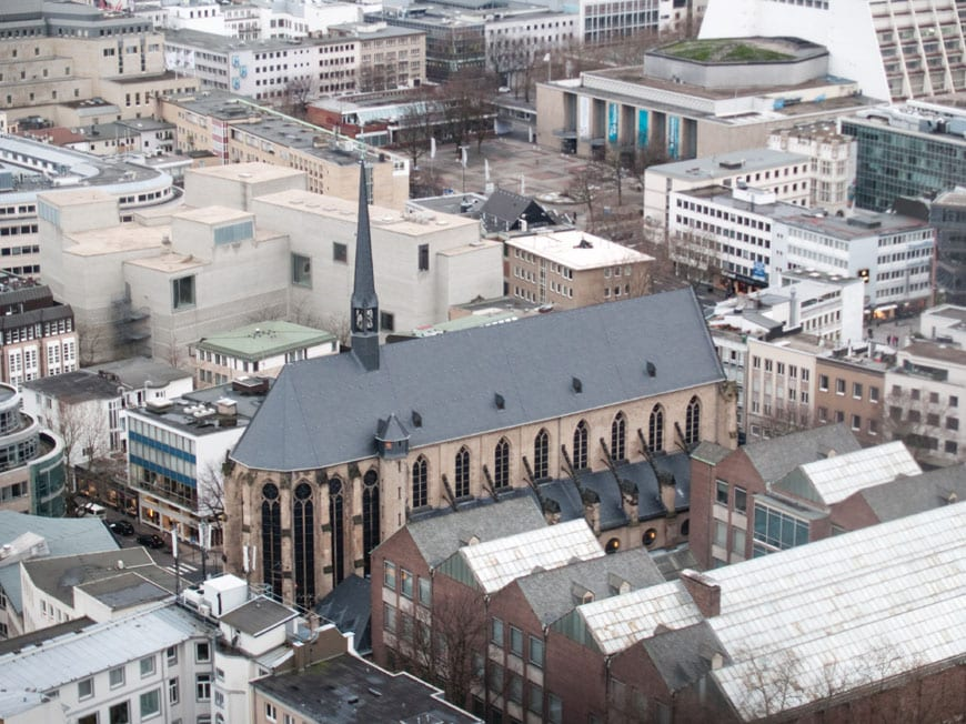 Kolumba-museum-Koln-aerial-view