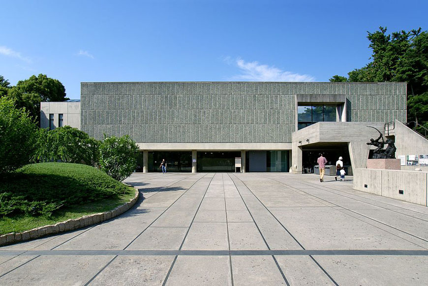 The National Museum Of Western Art In Tokyo By Le Corbusier