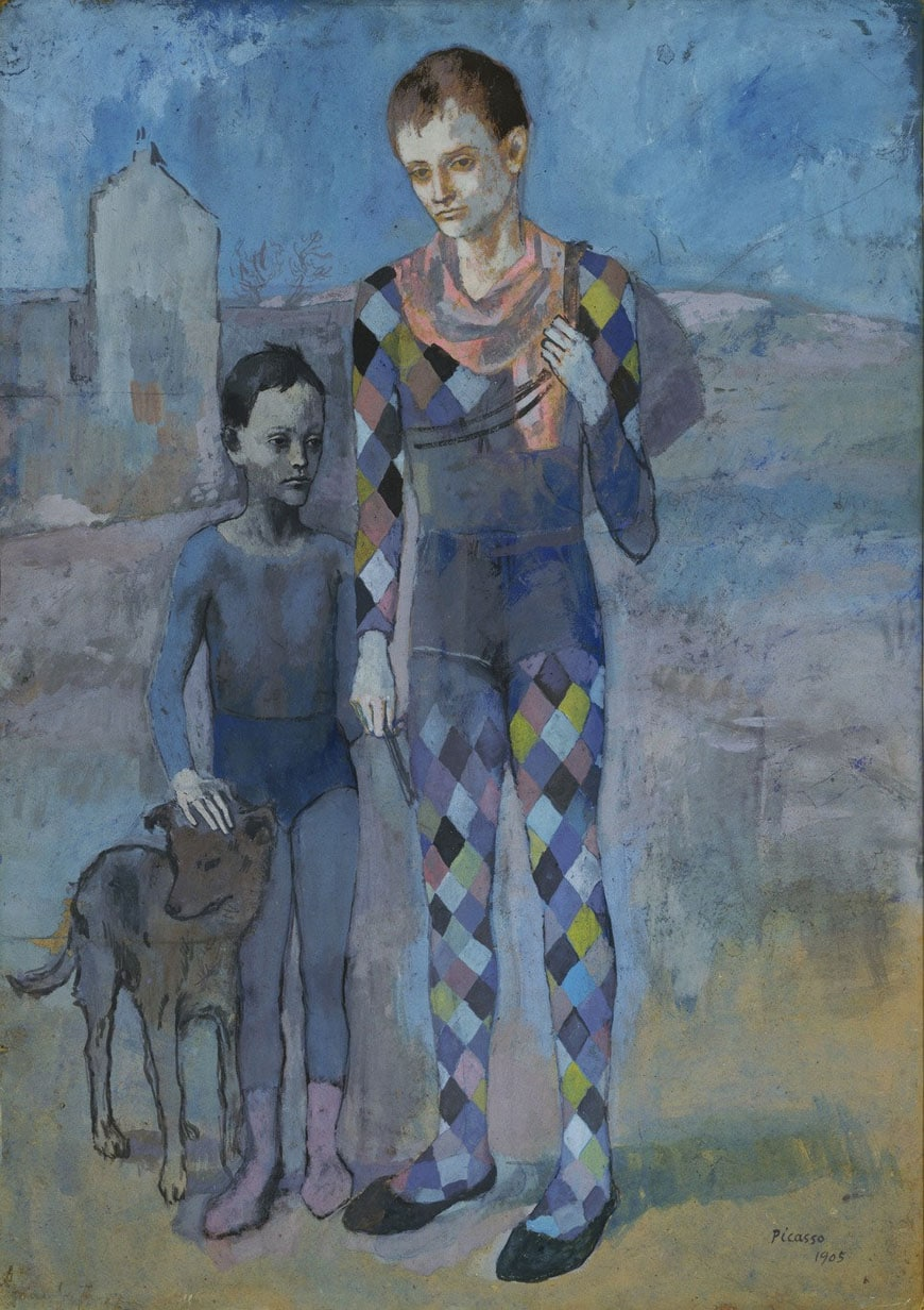 pablo-picasso-two-acrobats-with-dog-moma