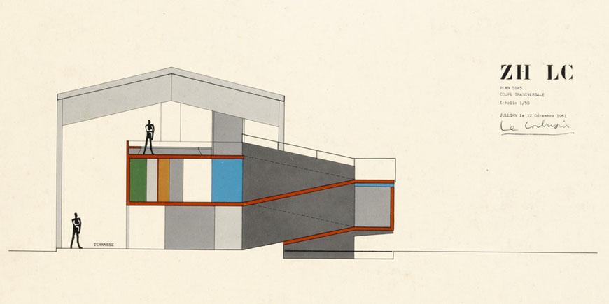 Pavillon le corbusier z rich for Pavillon moderne construction