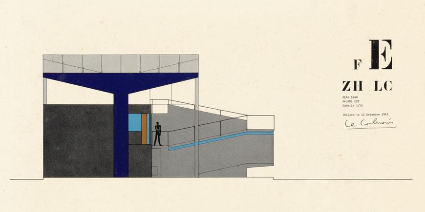 pavillion-le-corbusier-zurich-east-elevation-drawing