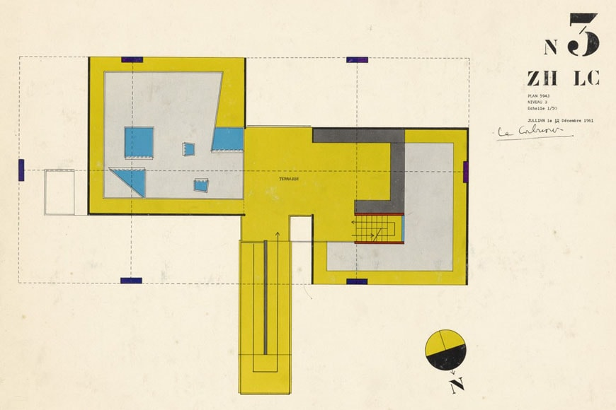 pavillion-le-corbusier-zurich-third-floor-plan