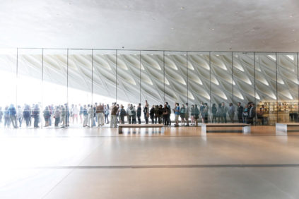 L.A | THE BROAD: more than 820,000 visitors in its inaugural year