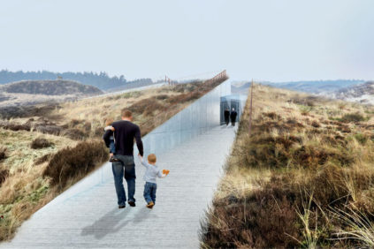 Il Blåvand Bunkermuseum di BIG – Bjarke Ingels Group