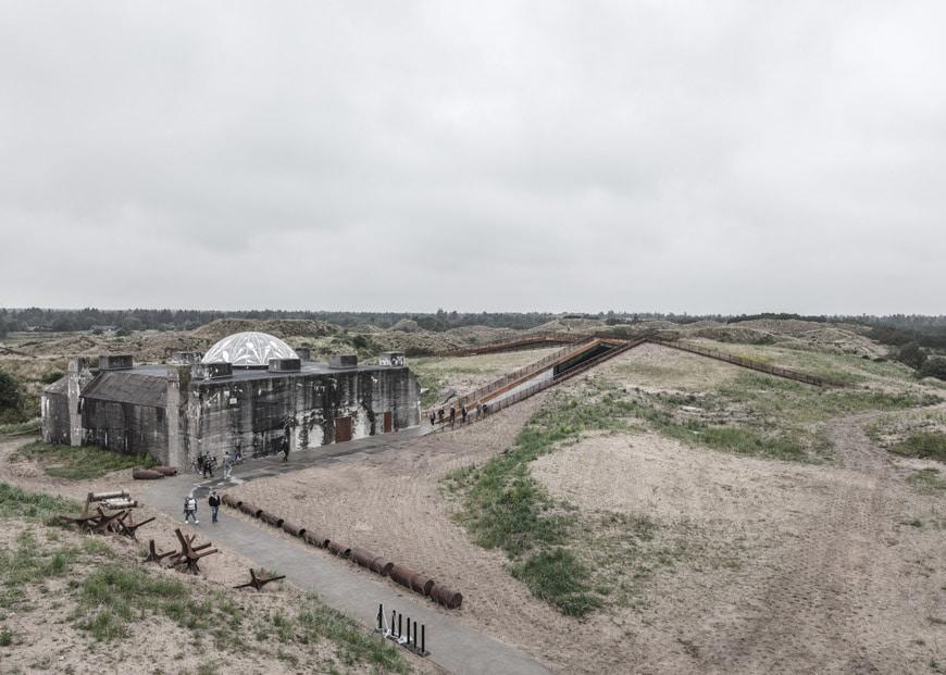 BIG Bjarke Ingels TIRPITZ Bunker Museum 04