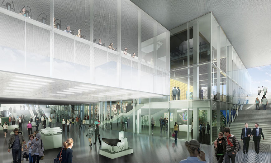 Rem Koolhaas Oma Blox Copenhagen