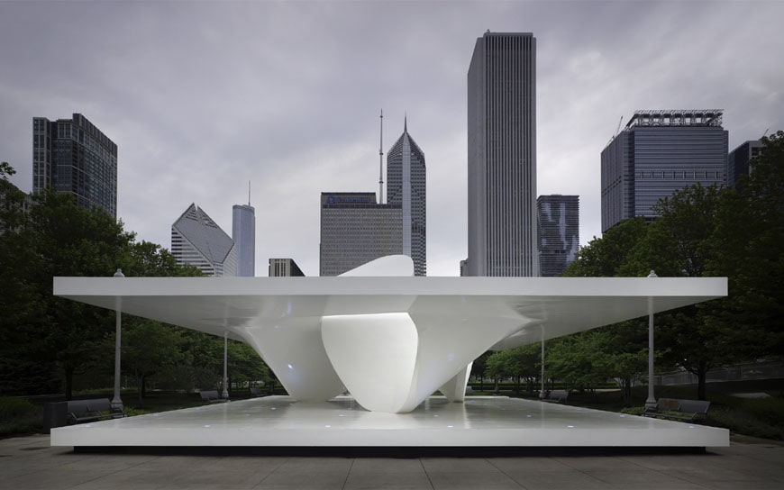 Chicago the burnham pavilion by zaha hadid architects for Un studio architecture