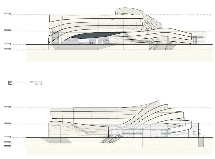 design-museum-holon-ron-arad-elevations