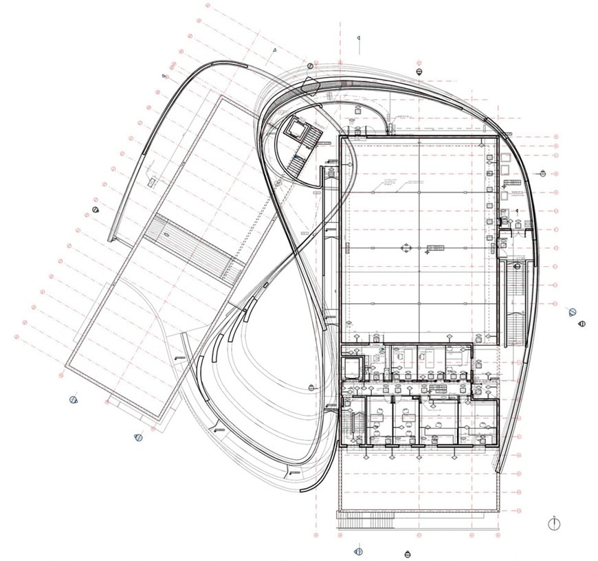 design-museum-holon-ron-arad-first-floor-plan