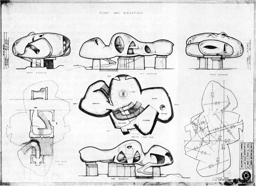 endless-house-1950-frederick-john-kiesler-drawings