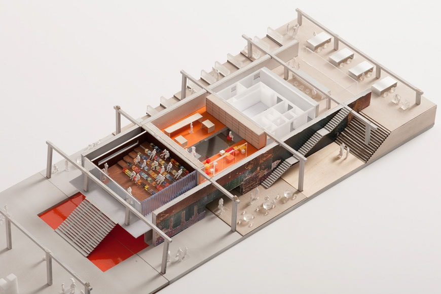 garage-contemporary-art-museum-moscow-rem-koolhaas-cutout-model