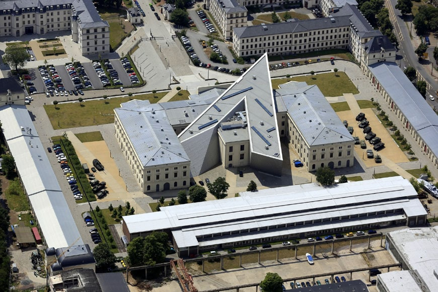 military-history-museum-dresden-daniel-libeskind-aerial-view-2