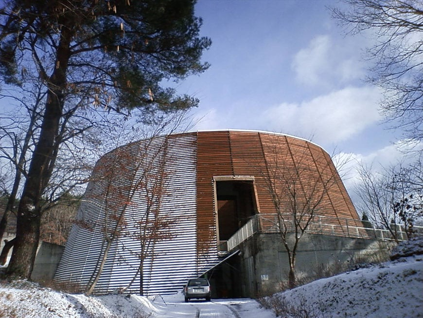 The Museum Of Wood Culture In Japan Tadao Ando