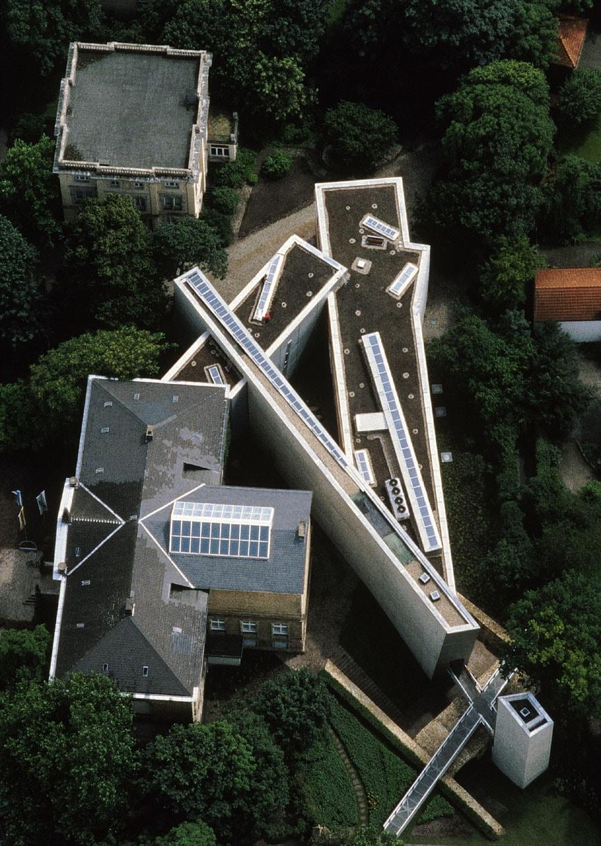 Felix-Nussbaum-Haus-Daniel-Libeskind-aerial-view