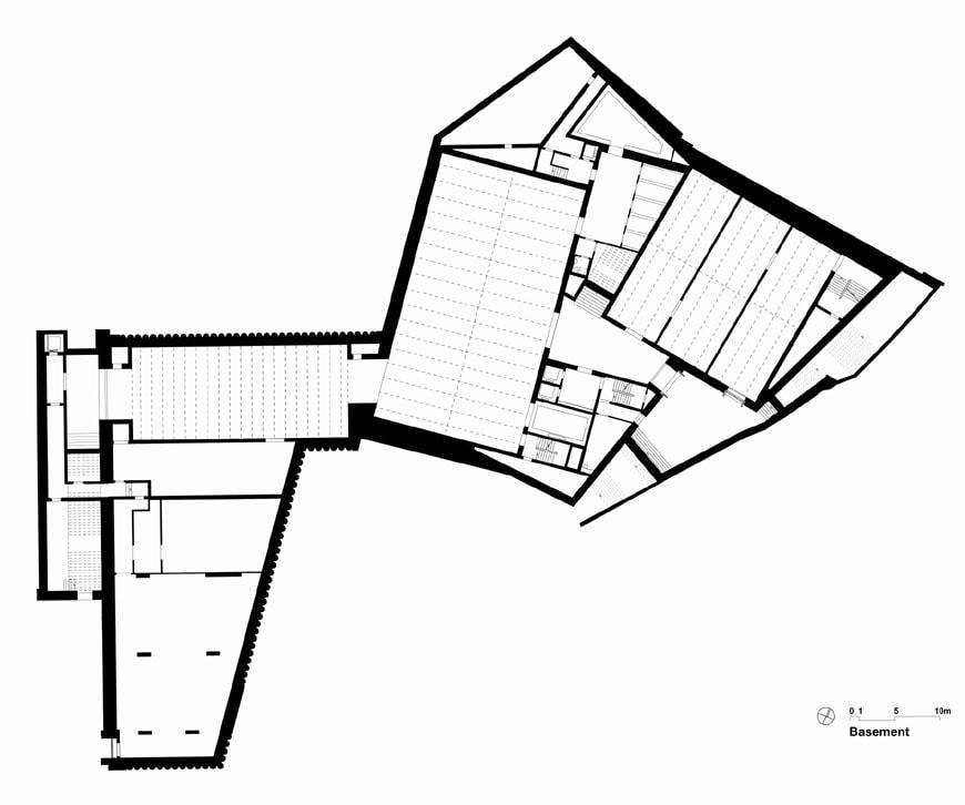 Kunstmuseum Basel | new building - Basement