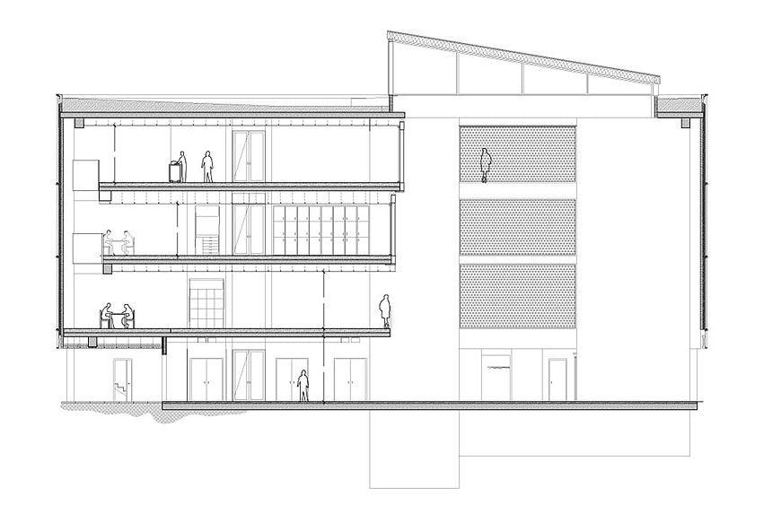 house-of-natural-science-nord-architects-section