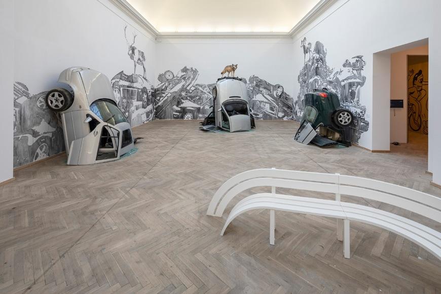 Kunsthal Charlottenborg Copenhagen gallery exhibition Big Art