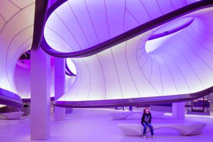 London | Mathematics gallery at the Science museum – Zaha Hadid Architects