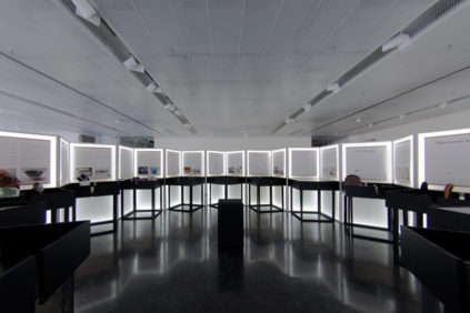 Paris: Archiee's exhibition system makes tradition and technology meet