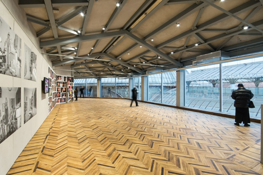 prada opens new gallery focused on photography in milan On osservatorio fondazione prada