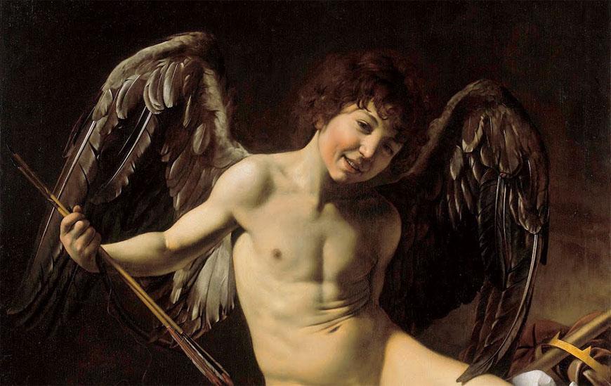 Gemäldegalerie Berlin Caravaggio amor vincit omnia