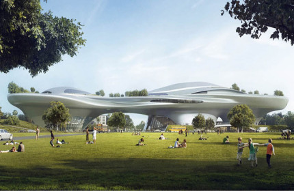Lucas Museum Narrative Art Los Angeles MAD Architects 01