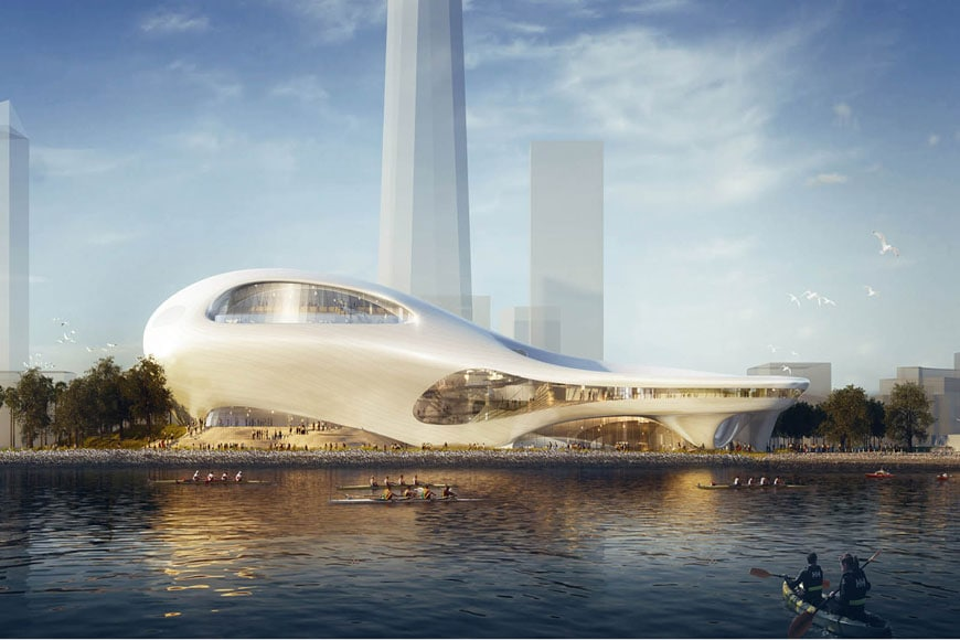 Lucas Museum Narrative Art San Francisco MAD Architects 01
