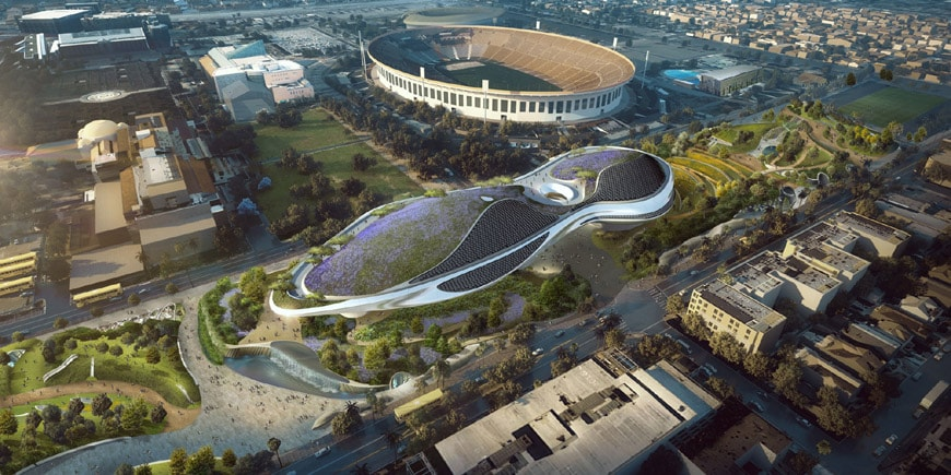 Lucas Museum Narrative Arts Los Angeles 2018 MAD architects 2