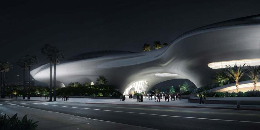 Lucas Museum Narrative Arts Los Angeles 2018 MAD architects 3