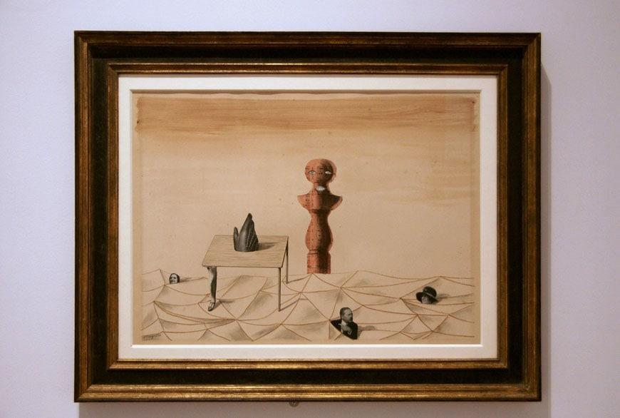 Sammlung Scharf-Gerstenberg museum Berlin Magritte