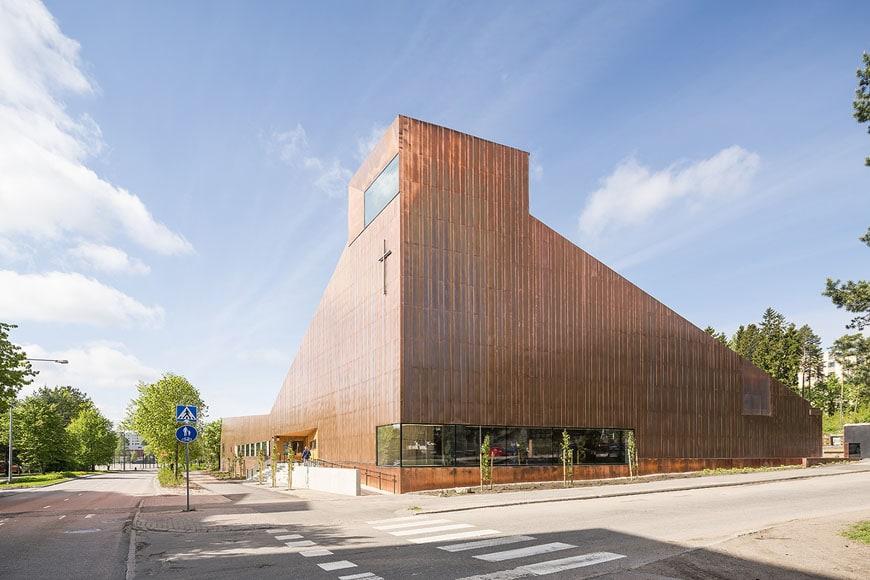 Suvela Chapel Espoo Finland OOPEAA