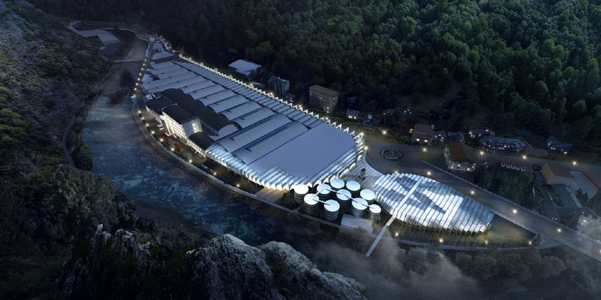 BIg Bjarke Ingels Group S.Pellegrino flagship factory competition 10