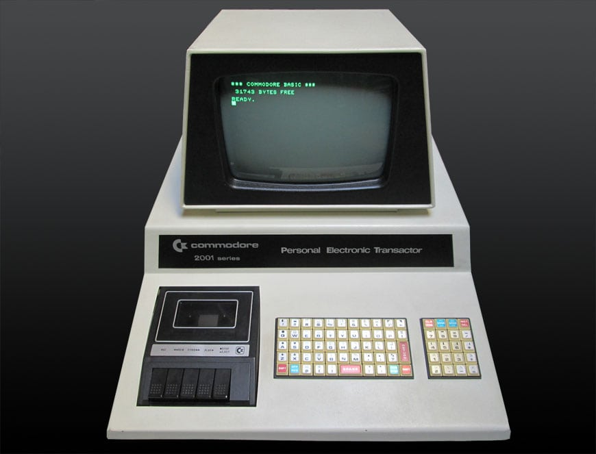 Commodore PET 2001 06