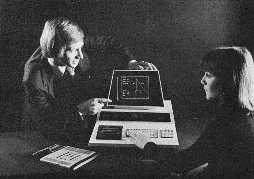 History of Computer design: Commodore PET 2001 (1977)