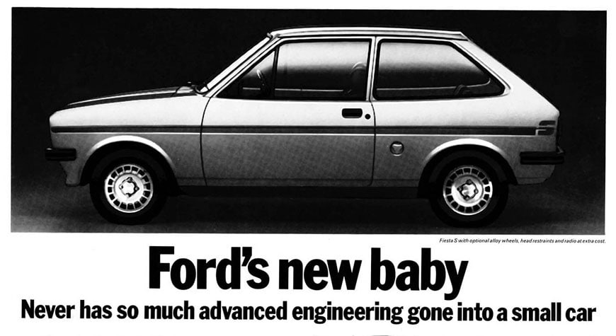 Ford Fiest Advert 1977